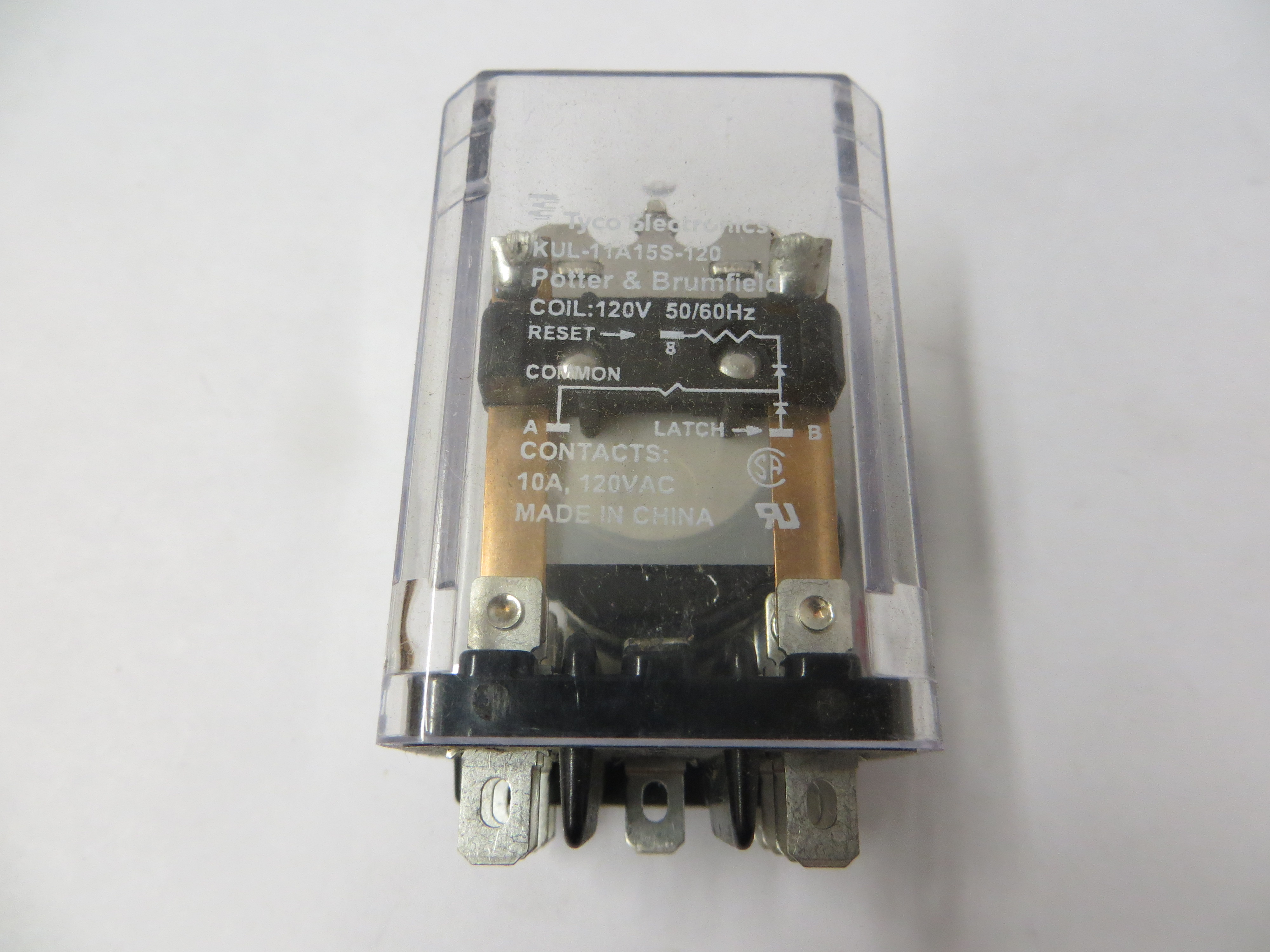 09CLC-C37 - Milnor 120V Latch Relay