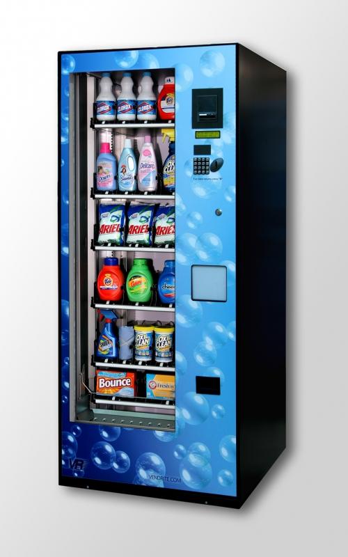 laundry soap dispenser vending machine