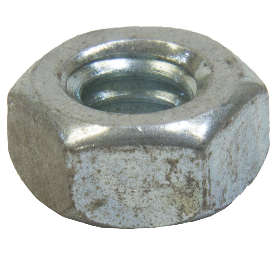 Nut Hex 1/4-20 MACH-UNC-ZNCPLT
