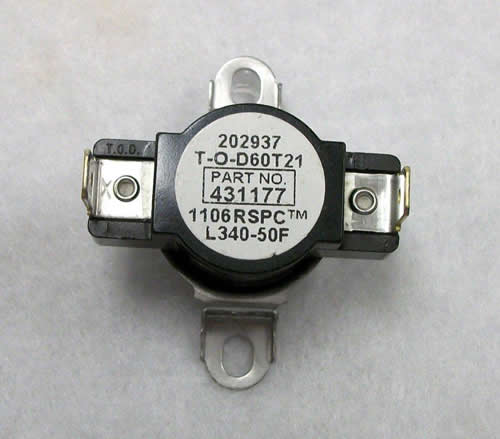 Thermostat Stove Limit 340F