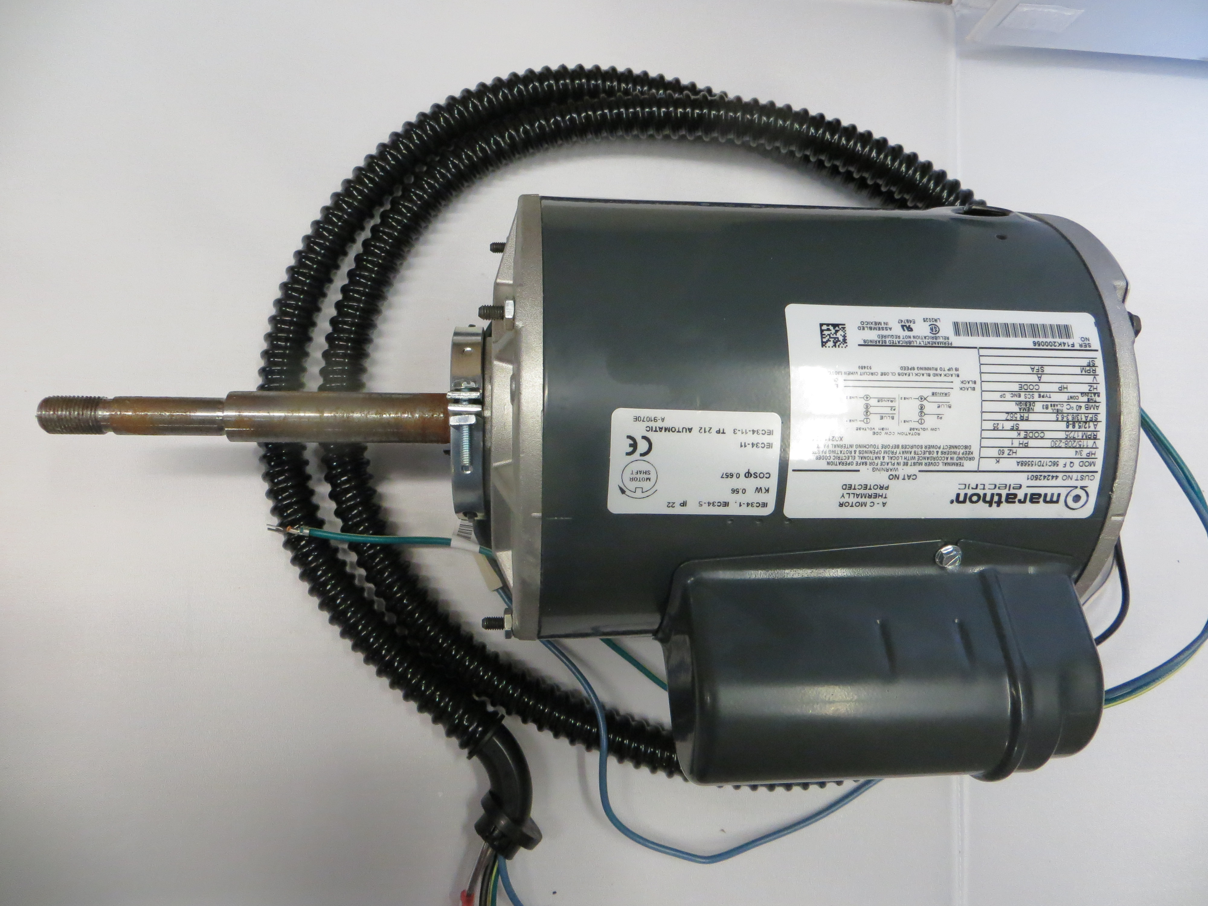Tumble Dryer Motor With Harness