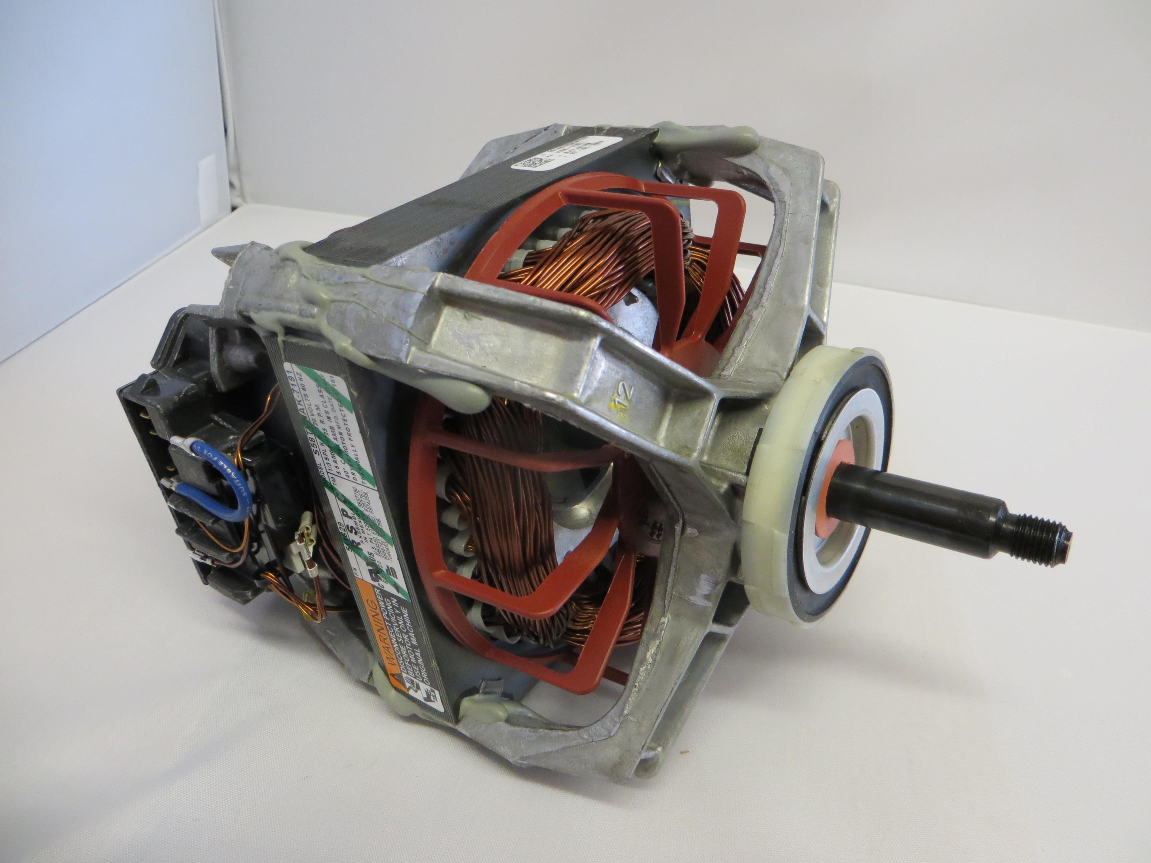 Assembly Motor & Pulley-120/60 PKG