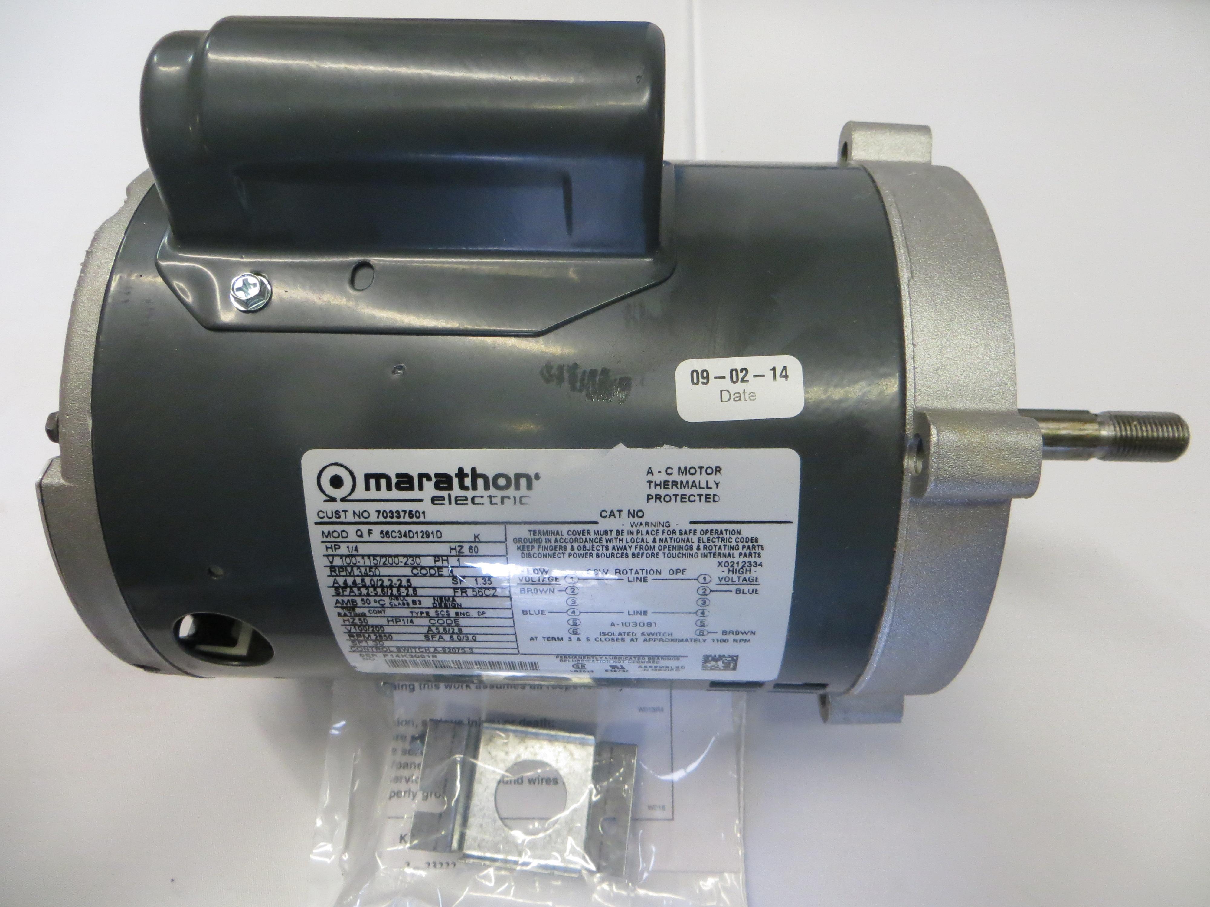 Motor B 100-230/6/1&100-200/5/1