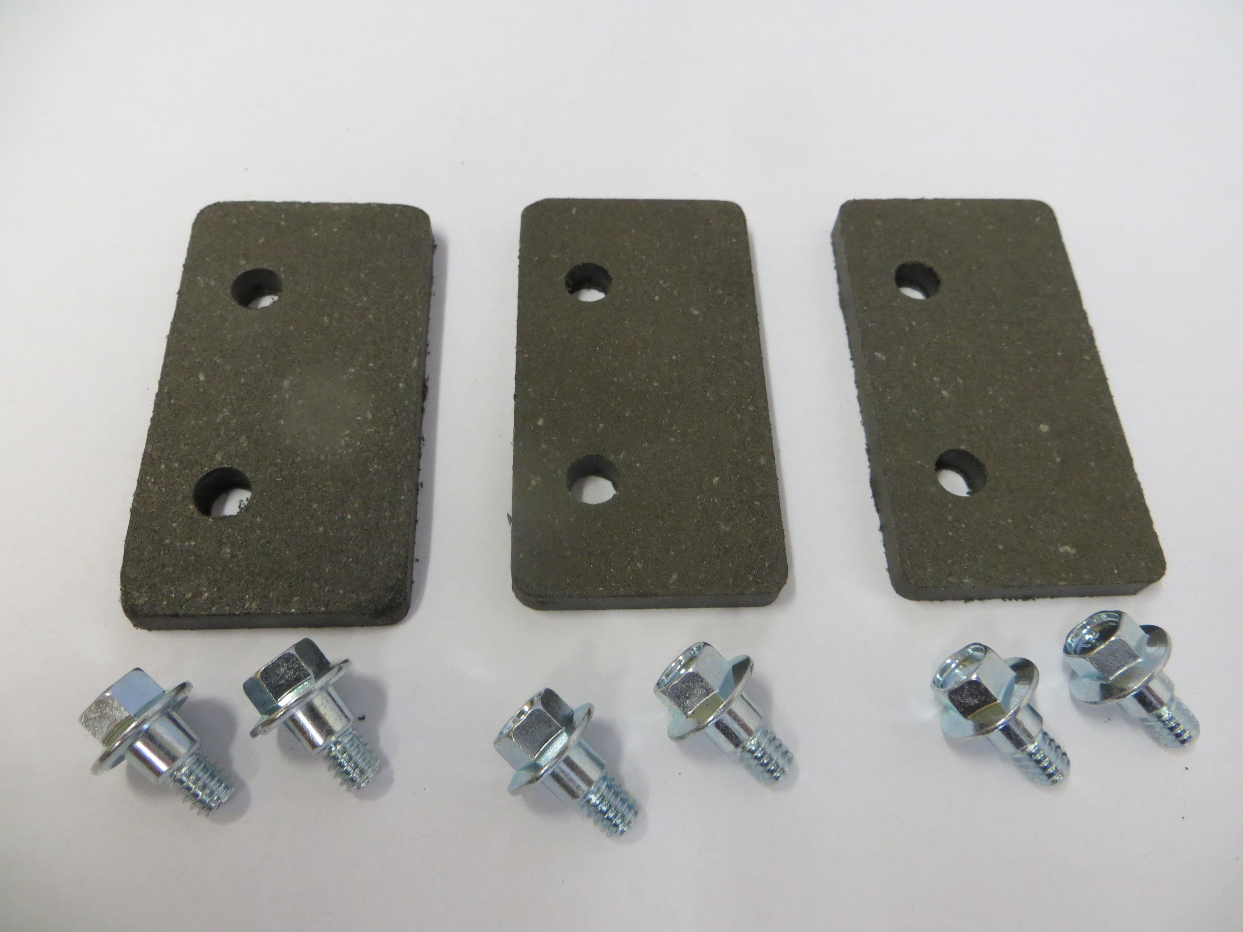 Brake Pad Kit - 2 Hole w/Bolts
