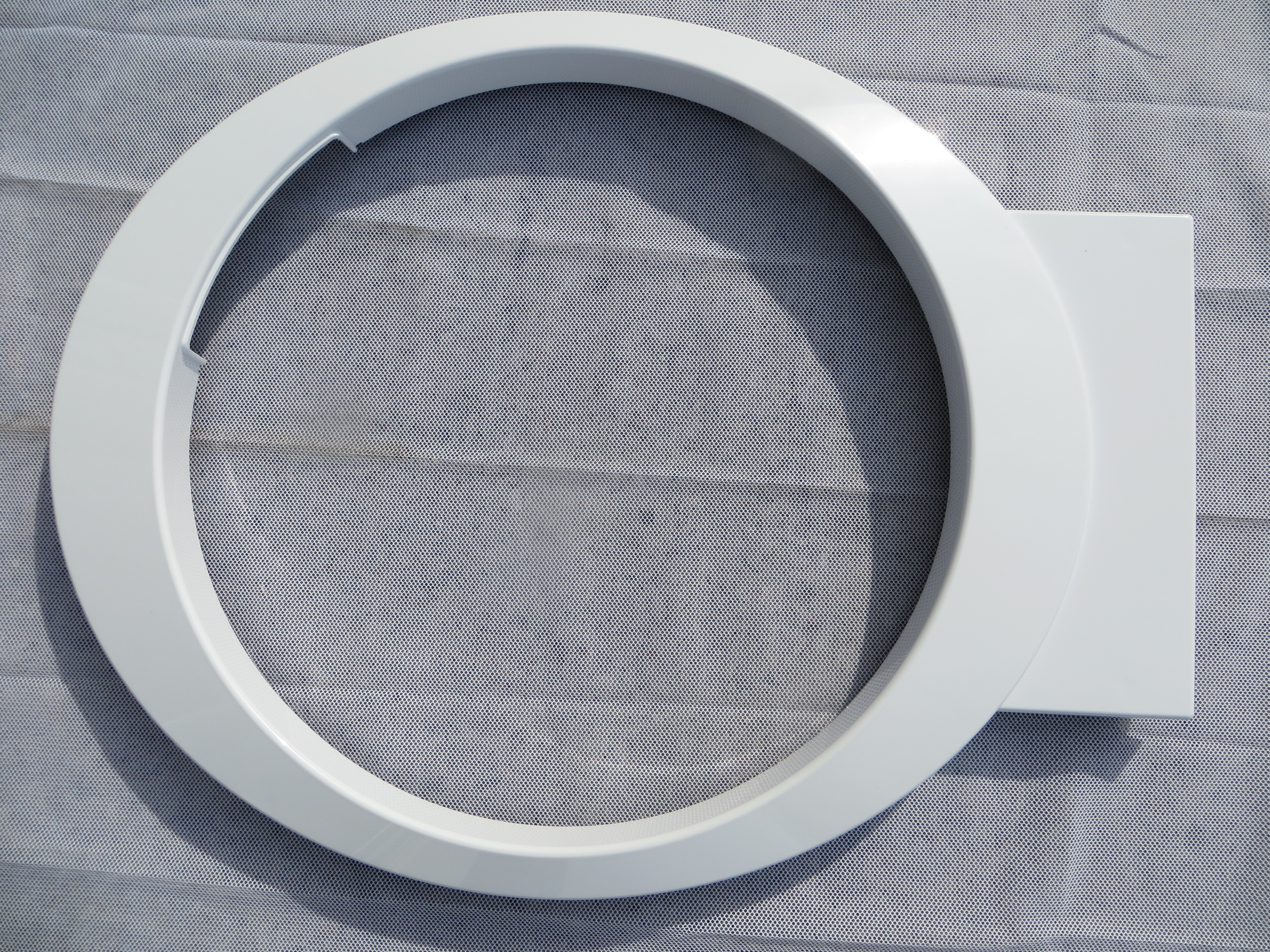 Outer Door Bezel - White