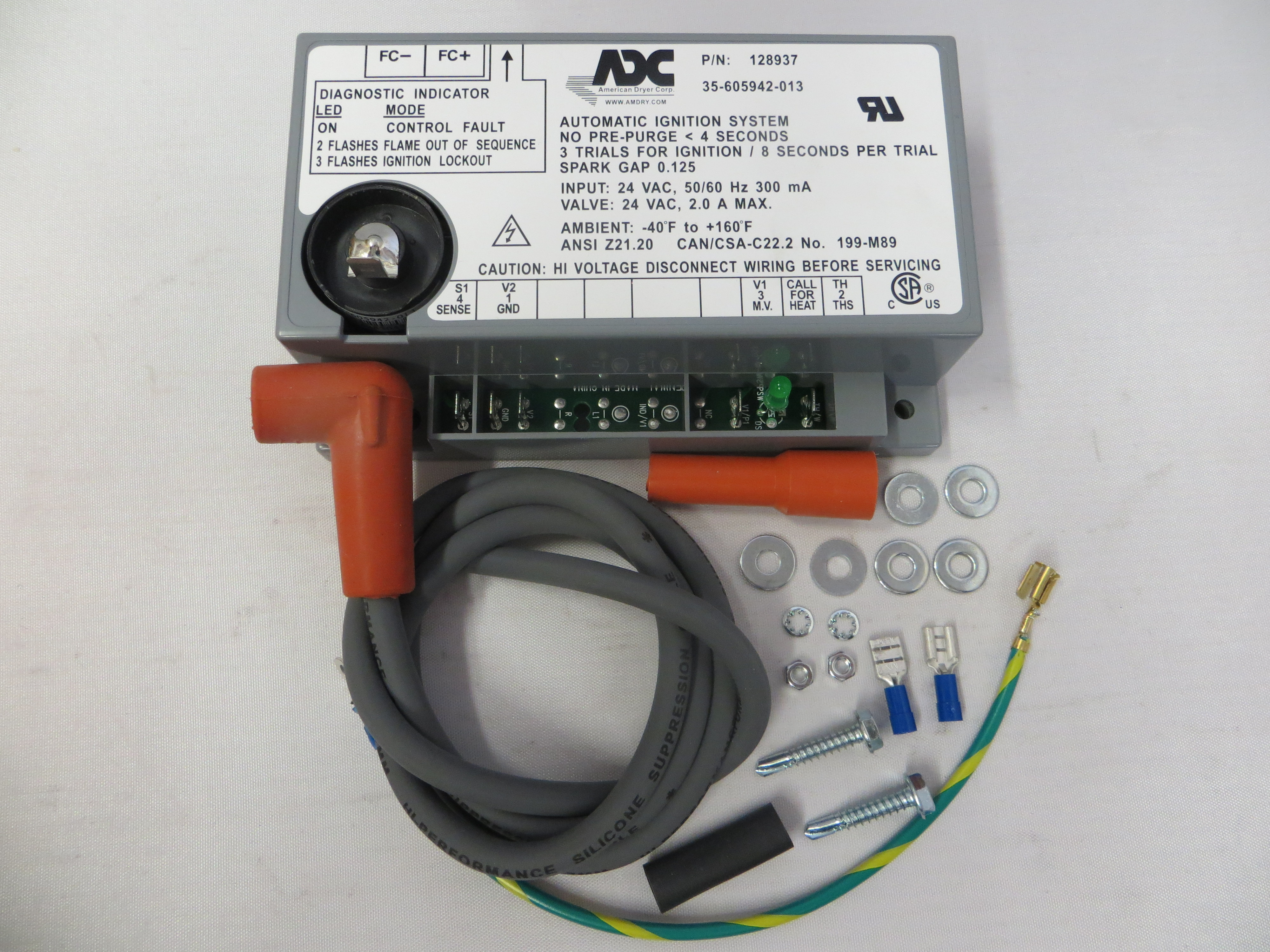 WFR883849 - ADC Ignition Control