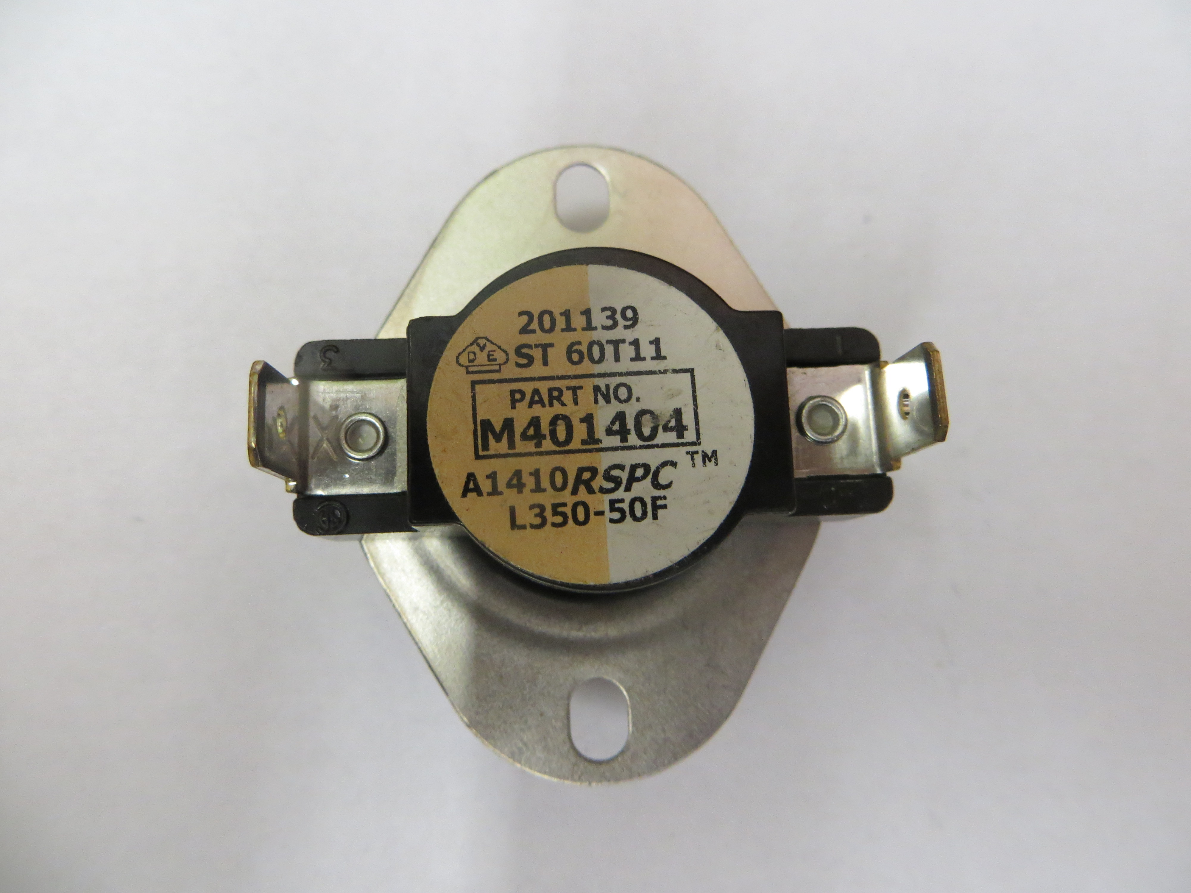Hi Limit Thermostat 350F