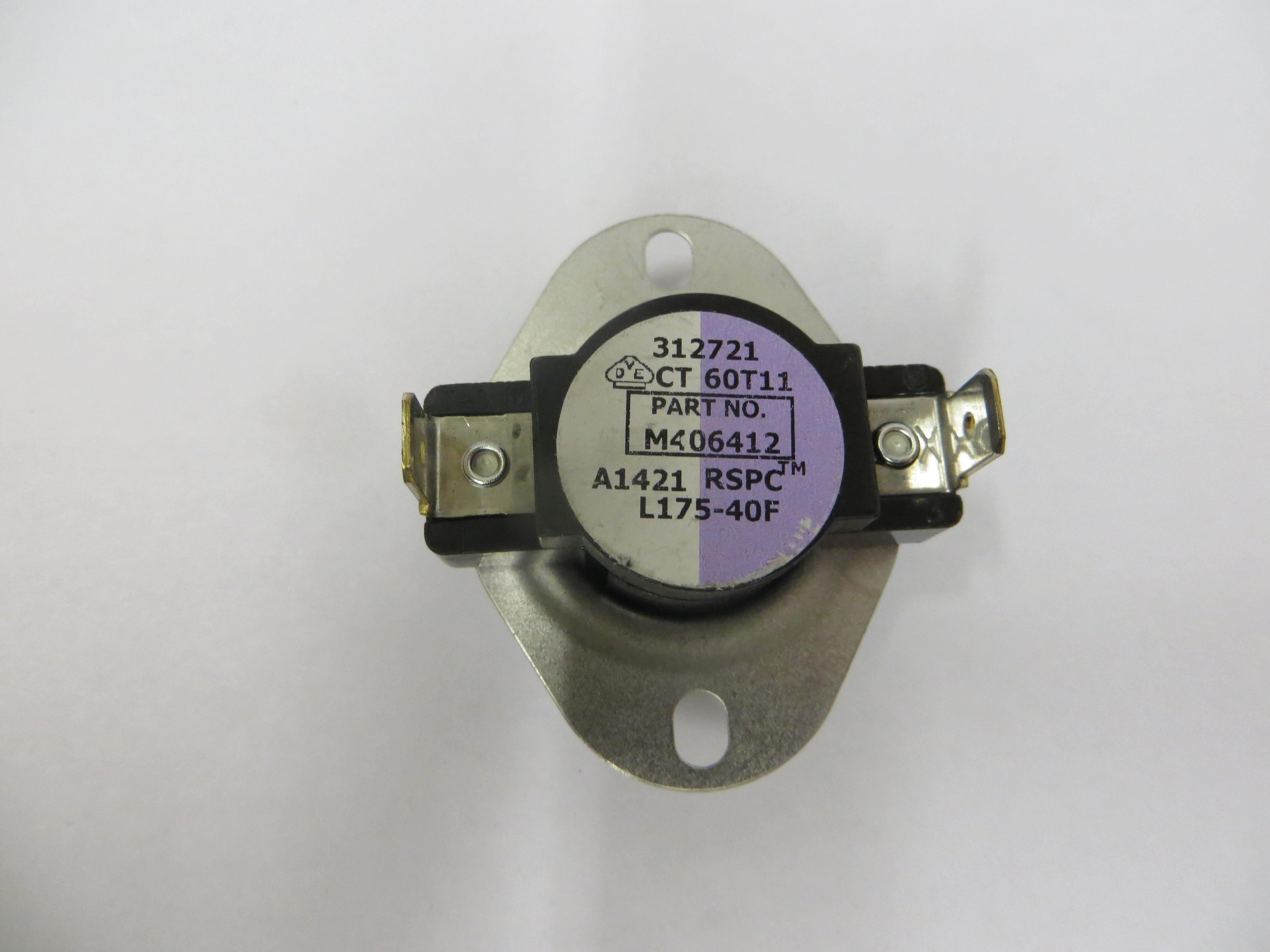 Hi-Limit Thermostat -175F(Violet/White)