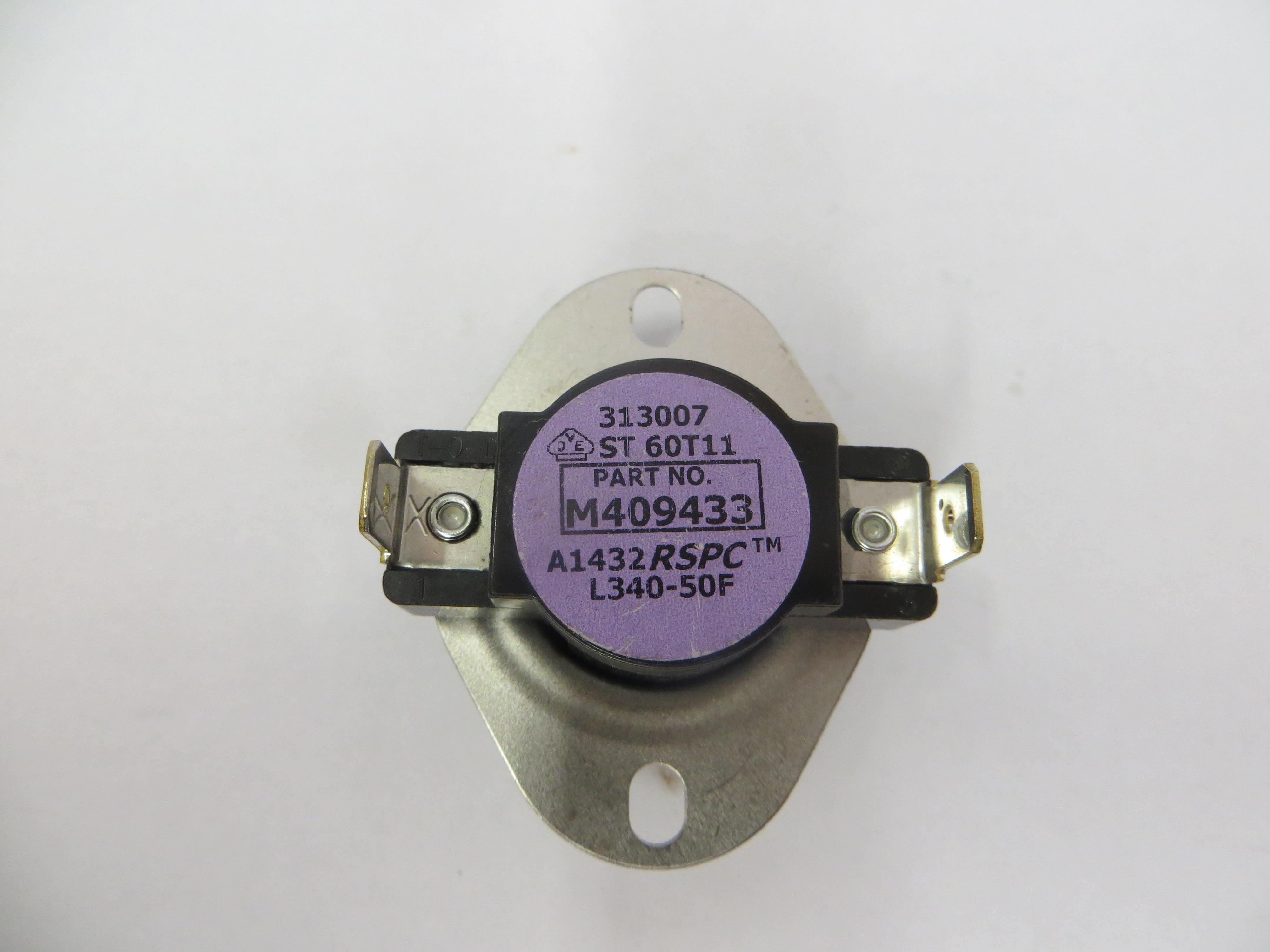 Hi-LimitThermostat  340F Violet