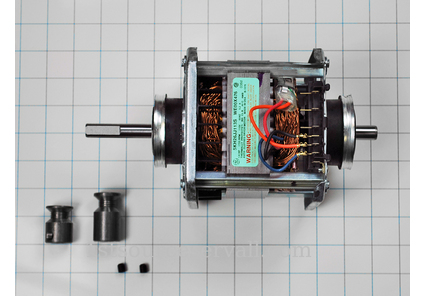 We17x10010 G E Dryer Motor Odl Part We17x10010