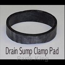MILNOR Drain SUMP Clamp Pad