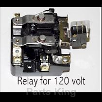 09C063AB37 - Relay 120V E-2 Drain/SPin 1 Ph