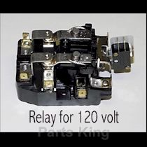 09C063AE37 - Relay 120V E-1 Wash